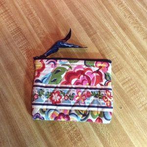 Vera Bradley coin pouch